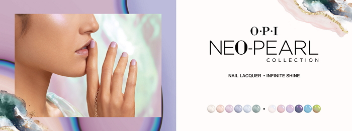 OPI 2020限定 新一代前衛高訂感珠光 「Neo-Pearl Collection 凝結時光系列」7/15新色耀眼登場