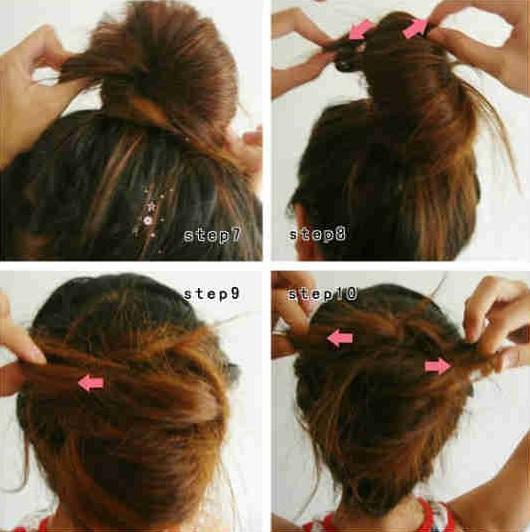 七款快速盤髮  超簡單又實用!