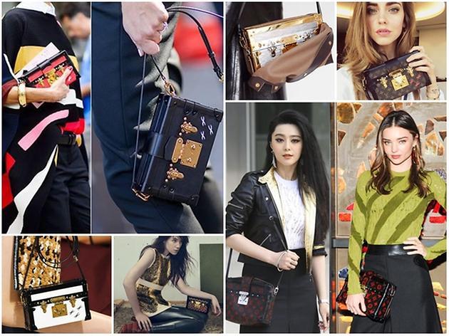 當季的It Bag就是它!中外名人都在拿Louis Vuitton Petite Malle包