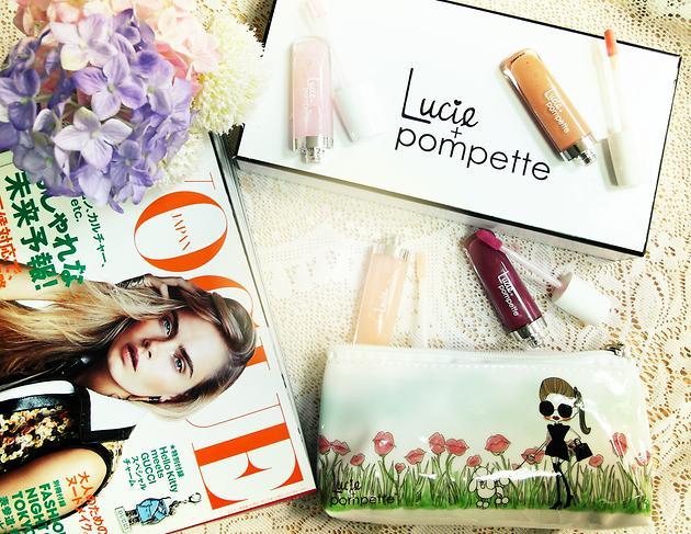 【文末抽獎】好萊塢等級的閃耀!Lucie + Pompette唇蜜試色