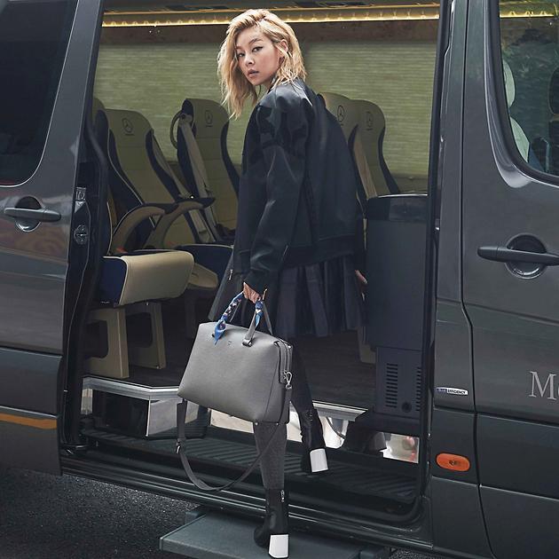 韓版「名模生死鬥」人氣選手宋海娜獲MCM欽點演繹全新Ella包款