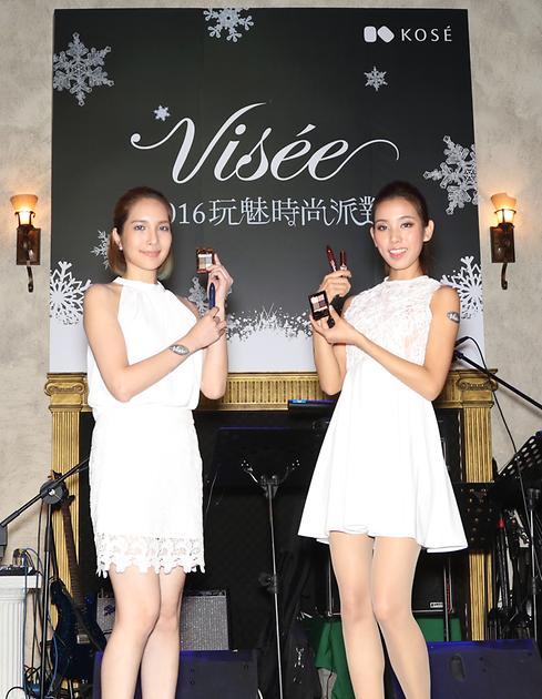Visee玩魅時尚派對 幻色精靈新造型 黑色蕾絲實現女性時尚新魅力